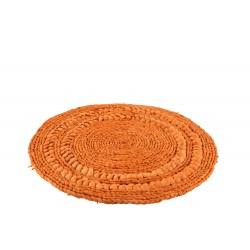 Set De Table En Rotin Orange