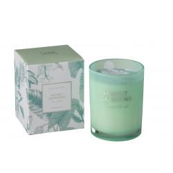 Bougie Parfumée Monet Gardens Vert D'eau 70H
