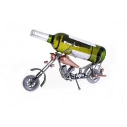 Porte Bouteille Moto Chopper De 35 Cm X 19 Cm X 14 Cm