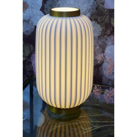 Lampe Porcelaine Forme Lanterne