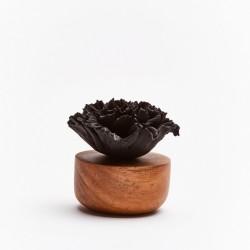 Œillet Du Japon - Diffuseur De Parfum En Bois Et Céramique Noire