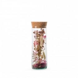 Tube Fleurs Séchées Lady Rose - 26,5 Cm
