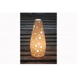 Lampe Porcelaine Forme Ogive
